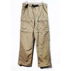 The North Face Beige Tan Convertible Pants Shorts